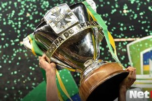 Copa do Brasil Brazilian Cup Trophy Trofeu Inter Internacional Athletico Colorado Furacao