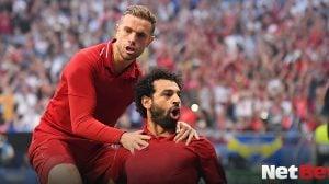 Apostas Esportivas Online Futebol Premier League Liverpool Reds Mohammed Mo Salah Hendo Henderson