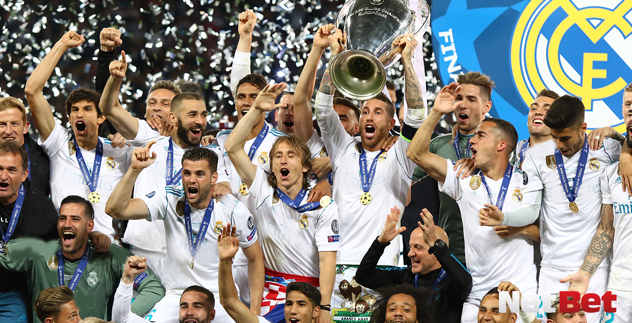 Maior campeao Liga dos Campeoes Real Madrid