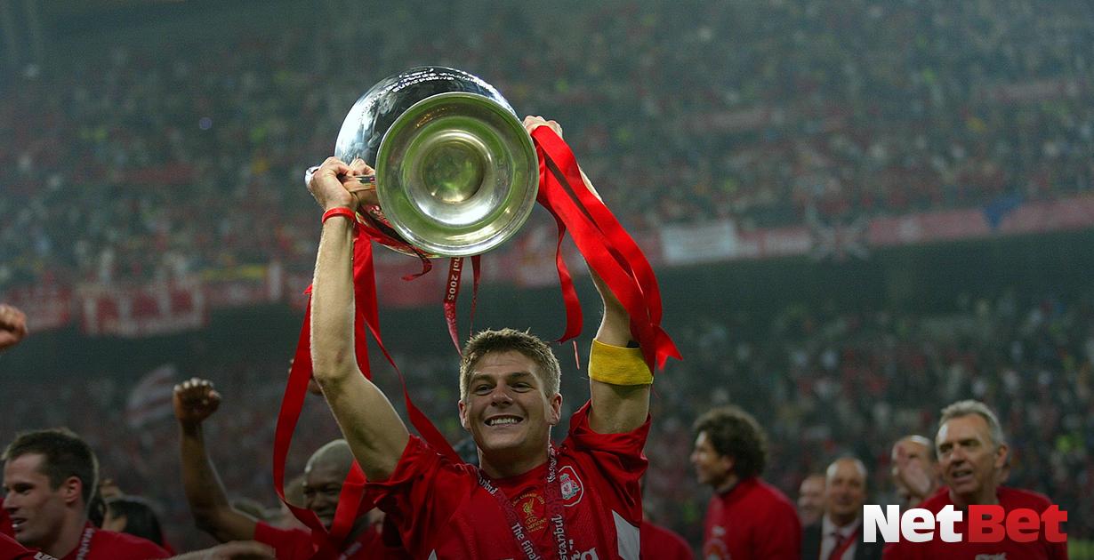 Steven Gerrard Liverpool Reds