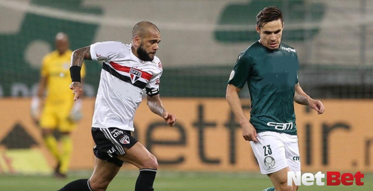 Sao Paulo Palmeiras Campeonato Paulista Dani Alves Raphael Veiga