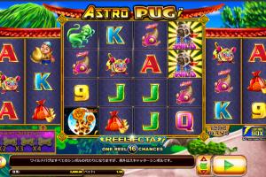 Astro Pug スロット